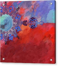 Painting 340 3 Acrylic Print by Mawra Tahreem