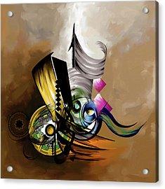 Painting 645 1 Acrylic Print by Mawra Tahreem