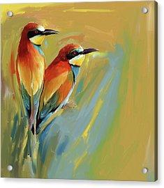 Painting 662 1 Bird 9 Acrylic Print