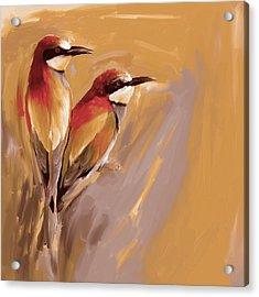 Painting 662 3 Bird 9 Acrylic Print