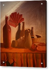 Painting By Rico Acrylic Print by Gerlinde Keating - Galleria GK Keating Associates Inc