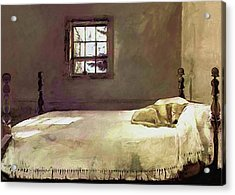 Painting Of The Print, Master Bedroom Acrylic Print