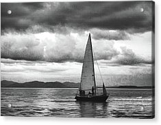Painting Sale Under Stormy Clouds Acrylic Print