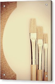 Painting Tools Acrylic Print