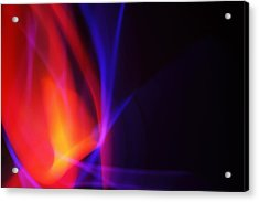 Painting With Light 5 Acrylic Print by Chris Rodenberg