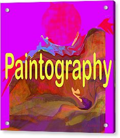 Paintography Acrylic Print