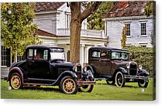 Pair Of Ford Model A  Acrylic Print