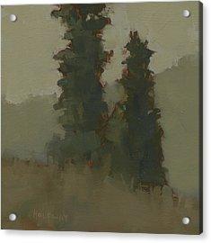 Pair Of Trees Acrylic Print