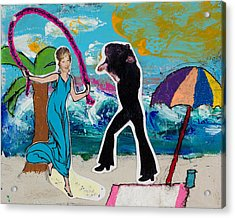 Pairs - Me And Jackson Acrylic Print