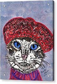 Pairs My Dear Acrylic Print