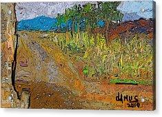 Paisaje - Chile - Campo 1 Acrylic Print by Carlos Camus