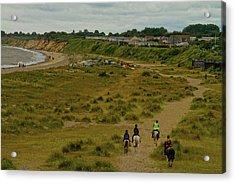 Pakefield Beach Acrylic Print by David French