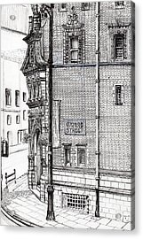 Palace Hotel Oxford Street Manchester Acrylic Print
