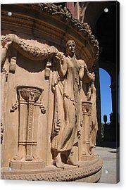 Palace Of Fine Arts Maiden In San Francisco Acrylic Print by Don Struke