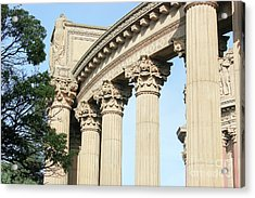 Palace Of Fine Arts Acrylic Print