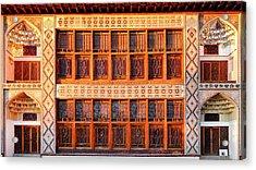 Acrylic Print featuring the photograph Palace Of Sheki Khans by Fabrizio Troiani