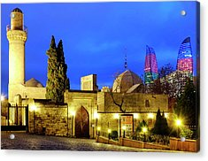 Acrylic Print featuring the photograph Palace Of The Shirvanshahs by Fabrizio Troiani