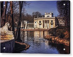 Palace On The Water  Acrylic Print by Carol Japp