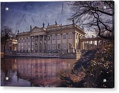 Palace On The Water  Warsaw Acrylic Print by Carol Japp
