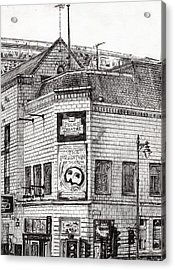 Palace Theater Manchester Acrylic Print by Vincent Alexander Booth