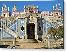 Palacio De Estoi Front View Acrylic Print by Angelo DeVal