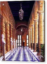 Palacio Acrylic Print by Jose Manuel Abraham