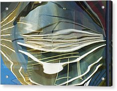 Palazo Hotel Reflection Acrylic Print by Richard Henne