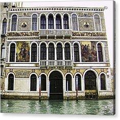 Palazzo Barbarigo Acrylic Print