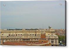 Palazzo Di Giustizia Acrylic Print by JAMART Photography