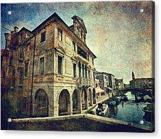 Palazzo Lisatti - Mascheroni Acrylic Print