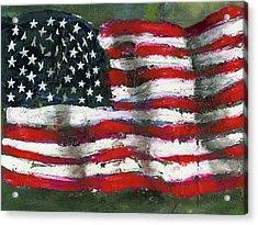 Palette Flag Acrylic Print