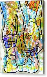 Palette Lad 11 Acrylic Print