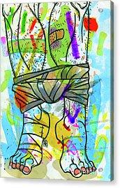 Palette Lad 2 Acrylic Print