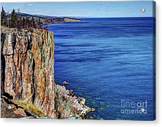 Palisade Head Tettegouche State Park North Shore Lake Superior Mn Acrylic Print