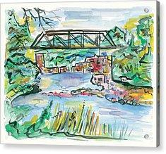 Palisades State Park Acrylic Print