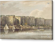 Palisades Acrylic Print by William Guy Wall