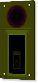 Palladian Green Acrylic Print by Charles Stuart