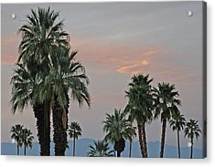 Palm Desert Sunset  Acrylic Print