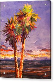 Palm Duo Acrylic Print