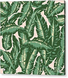 Palm Print Acrylic Print by Lauren Amelia Hughes