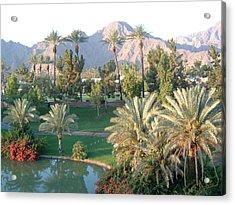 Palm Springs Ca Acrylic Print by Cheryl Ehlers