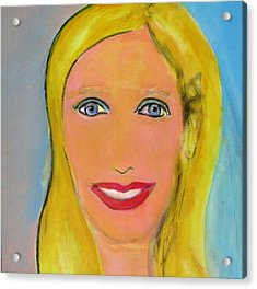Palm Springs Doll Acrylic Print