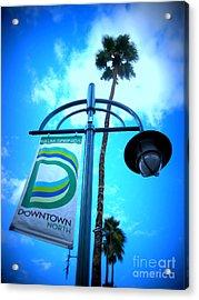 Palm Springs North Acrylic Print