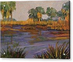 Palm Tree Hideaway  Acrylic Print