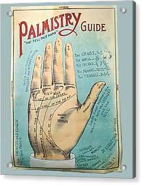 Palmistry Guide Acrylic Print