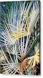 Palms   Original Acrylic Print