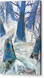 Palms 69cn - A Thorny Path Forward Acrylic Print