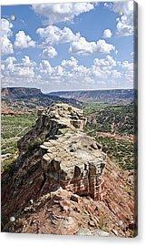 Palo Duro Canyon Acrylic Print by Melany Sarafis