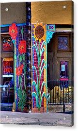 Palouse Cafe Acrylic Print by David Patterson