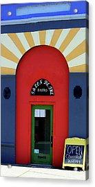 Palouse Door Acrylic Print by Sarah Hamilton